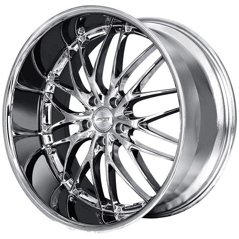 20 MRR GT1 CHROME RIMS WHEELS TIRES MUSTANG GS300 GS400